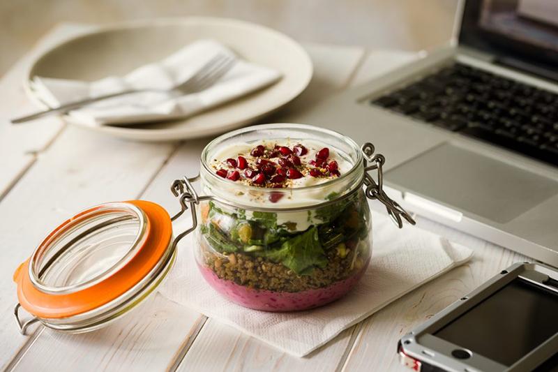 moroccan jam jar salad